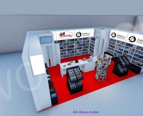 aramis minerva proiect 3d 3 495x400 ARAMIS & MINERVA   Proiect 3D