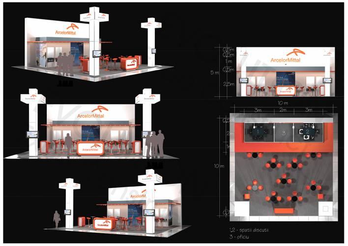 arcelor mittal proiect 3d ARCELOR MITTAL   Proiect 3D