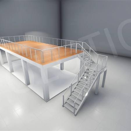 Stand cu etaj modul 5m x 11m 1 1 450x450 Stand cu etaj modul 5m x 11m