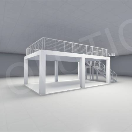 Stand cu etaj modul 5m x 8m 2 450x450 Stand cu etaj modul 5m x 8m