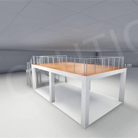 Stand cu etaj modul 5m x 8m 3 450x450 Stand cu etaj modul 5m x 8m