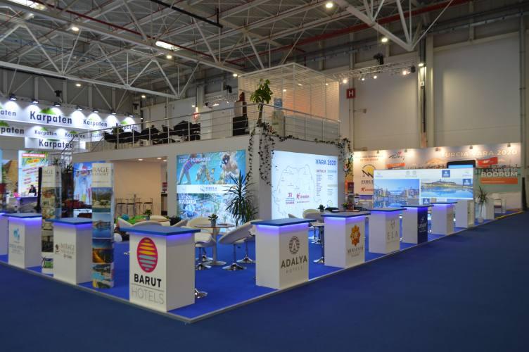 FIBULA TTR 1 2020 34 Expoevolution   Standuri expozitionale