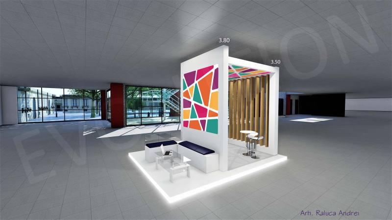Trencadis Proiect 2 2019 05 Expoevolution   Standuri expozitionale